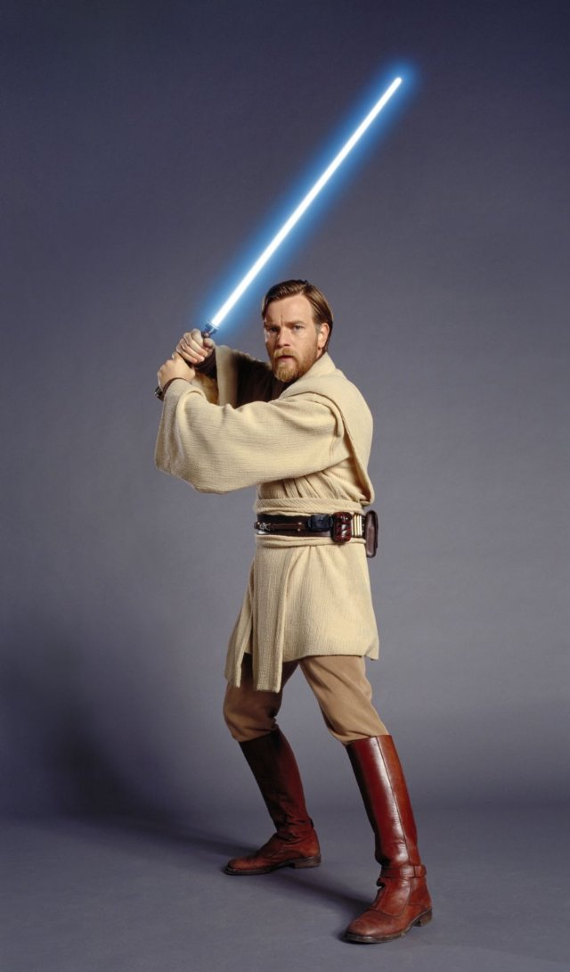 Jedi Master, General of the Grand Army of the Republic.